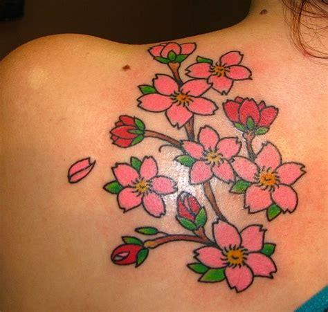 japanese cherry blossom tree tattoos designs cherry blossoms designs gallery