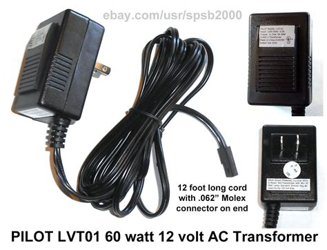 60watt 12volt In Transformer 60w 120v 12v Ac Low