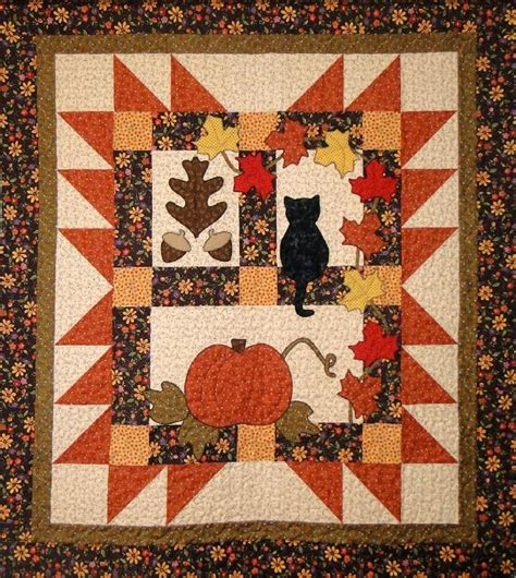 Free Fall Quilt Patterns by Autumn Quilt Patterns To Keep You Warm This Fall