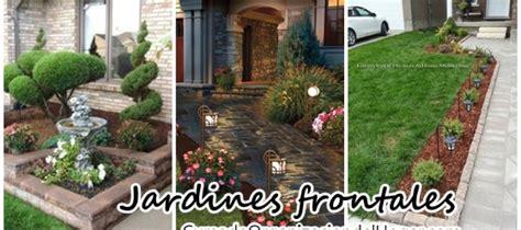 como decorar jardines de casas ideas para el jard 237 n frontal de tu casa curso de