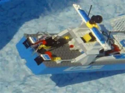 lego boat sinking videos vlog 2 lego police boat sinking youtube