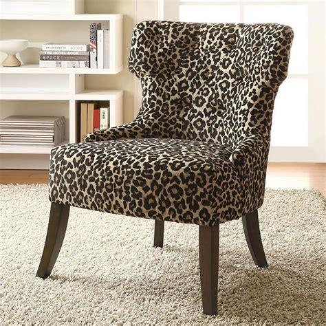 leopard print accent chair coaster furniture furniturepick