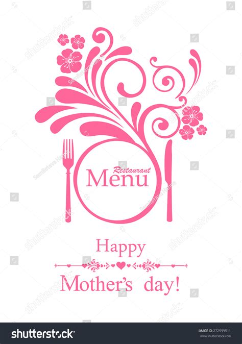 Happy Mothers Day Card Template by Happy S Day Restaurant Menu Card Design Menu