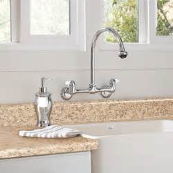 wall mounted kitchen sink faucets kitchen faucet buying guide