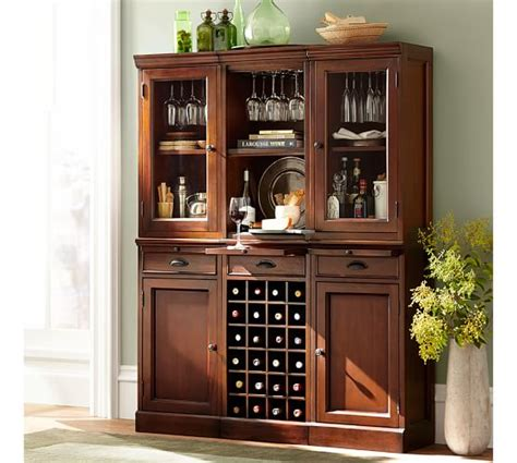 pottery barn china cabinet build your own modular bar cabinets pottery barn