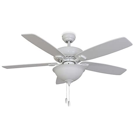 52 inch white ceiling fan with light 52 inch fells point bowl light white ceiling fan bed