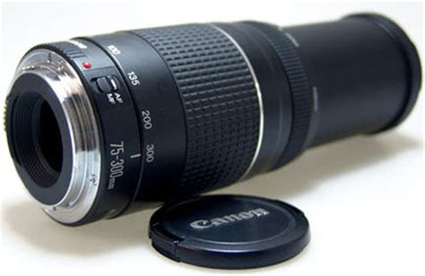 Lensa Canon Zoom Ef 75 300mm canon ef 75 300mm iii usm telephoto zoom lens part iv