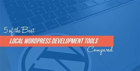 local wordpress development tools compared