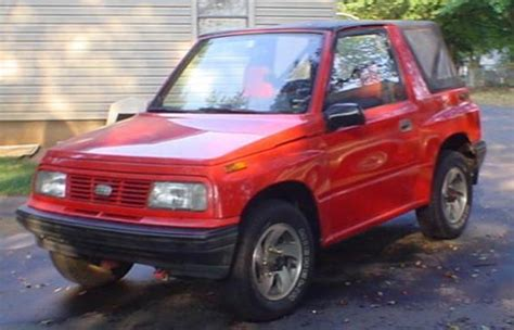 projecttwin 1993 geo tracker specs photos modification info at cardomain