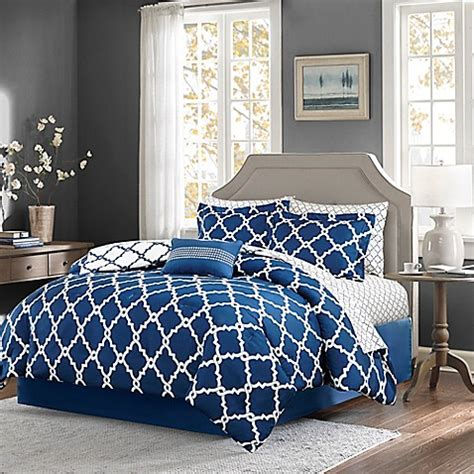 bed bath and beyond madison madison park essentials merritt reversible comforter set