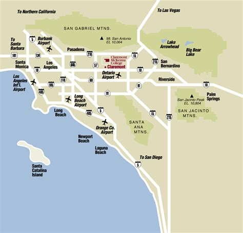claremont colleges map getting to claremont mckenna college claremont mckenna