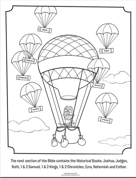 books of the new testament coloring pages