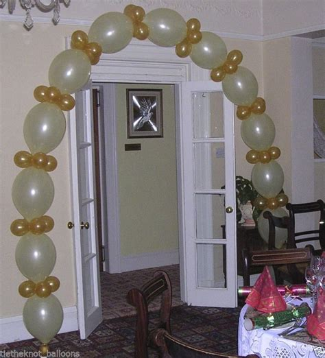 Wedding Arch Gold by Linking Link Balloon Diy Engagement Wedding