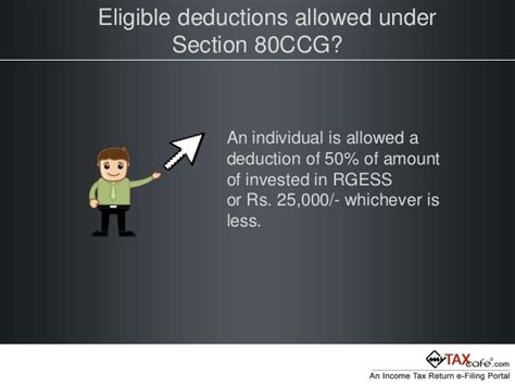 deduction under section 80ccg rajiv gandhi equity saving scheme rgess mytaxcafe help guide