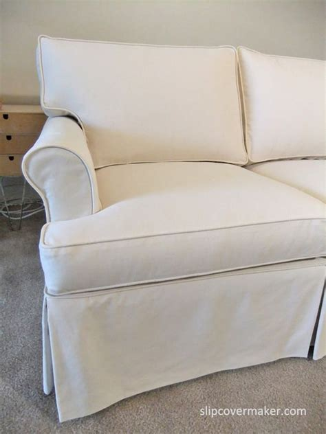 ethan allen slipcover sofa custom slipcover with a tailored fit for 15 year old ethan