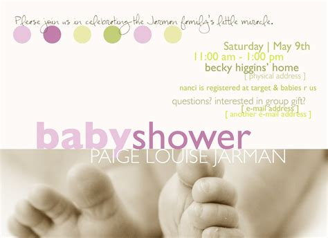 invitation template for baby shower baby shower invitation templates graphics and templates