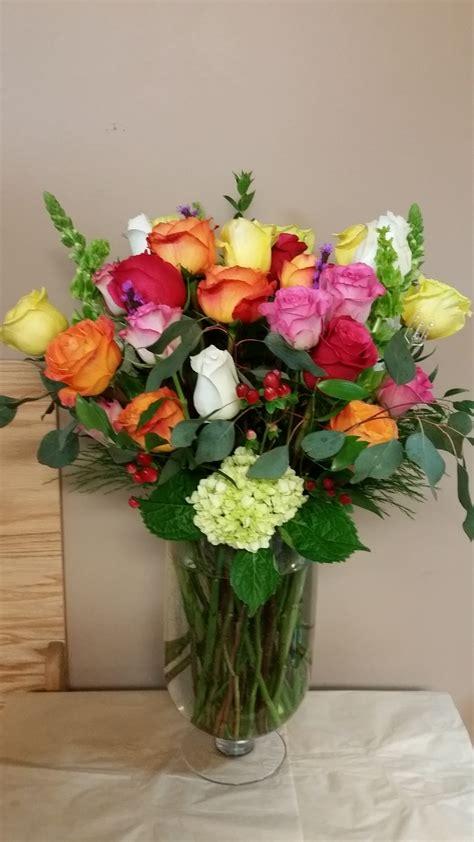 Two Dozen Roses by Two Dozen Roses In Santa Fe Nm Enchanted Leaf Florist