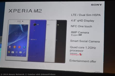 Hp Sony Xperia M2 Di Malaysia xperia m2 dual mula dijual pada harga rm939 di malaysia amanz