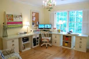 office and craft room room decorating before and after makeovers