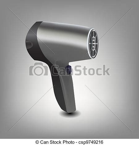 Hair Dryer Stock Clip clip vector of hair dryer icon vector illustration csp9749216 search clipart illustration