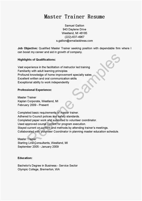 sle cv for voice and accent trainer master trainer cover letter veterinary assistant resume