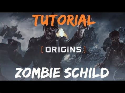 Zombie Origins Tutorial | origins tutorial zombie schild german youtube