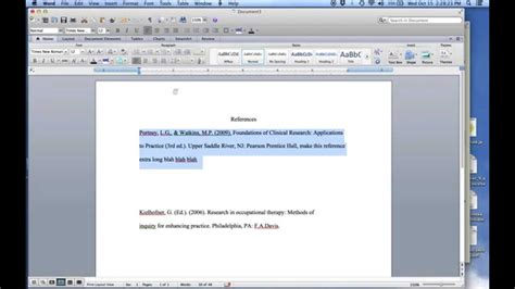 apa format hanging indent quick tutorial hanging indents for apa style references