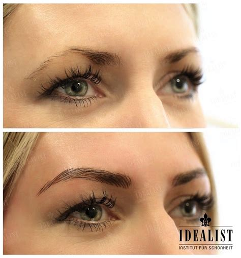 tattoo vanish eyebrows les 11 meilleures images du tableau maquillage permanent