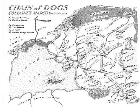 malazan map maps malazan book of the fallen