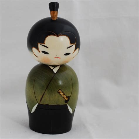 Handmade In Japan - japanese kokeshi doll authentic handmade in japan
