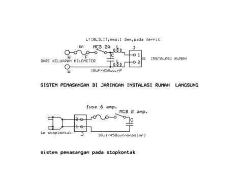 Ac Yg Murah Dan Hemat Listrik rangkaian alat penghemat listrik hidayat s