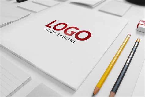 logo design mockup psd free download matte finish free logo mockup
