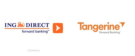 ing bank name brand new new logo and name for ing direct canada by
