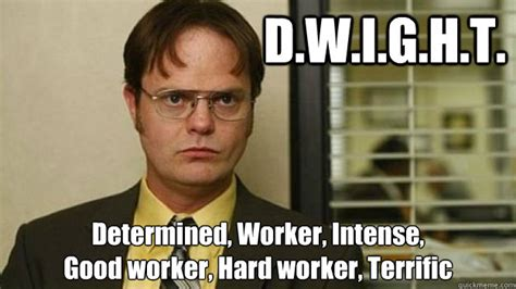 Dwight Schrute Meme - careereality the true experiences of an australian