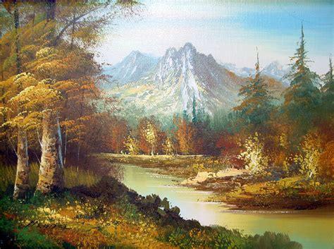 Landscape Pictures Painting Vintage Landscape Painting By Hendel