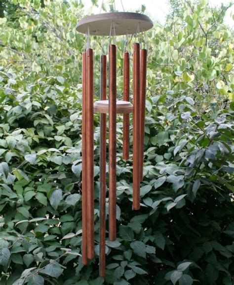 wind chimes diy homemade copper wind chimes craft pinterest