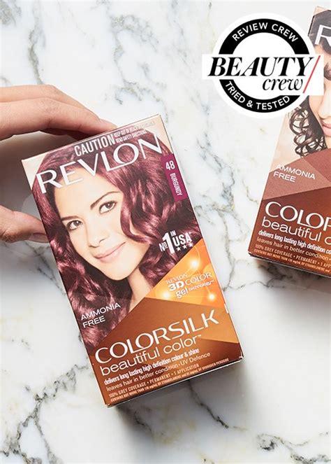 revlon hair color reviews revlon colorsilk hair colour reviews crew