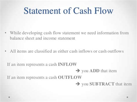project cash flow statement format in excel cash flow excel template