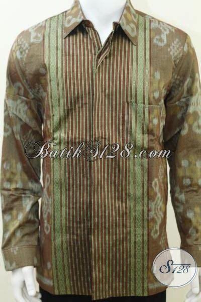 Sarimbit Tenun Ikat Handmade 730d jual kemeja tenun ikat pria bagus bagus lengan panjang