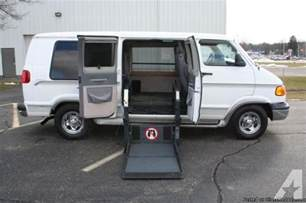 Dodge Wheelchair Vans For Sale 1998 Dodge Ram 1500 Wheelchair Accessible For Sale In