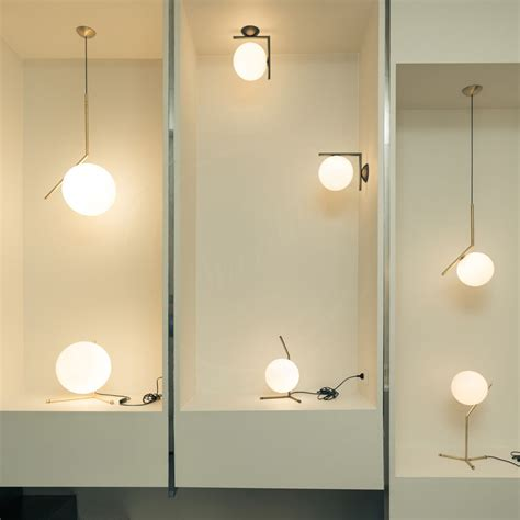 flos bathroom light ic light s pendant l by flos lighting stardust