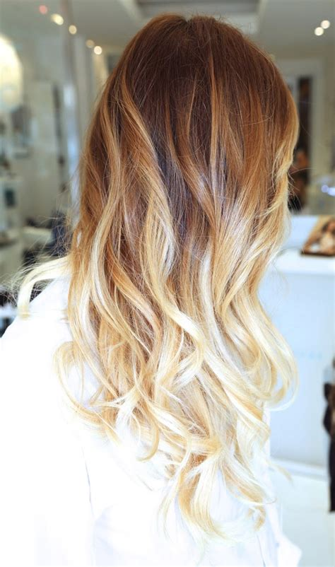 blonde colours ombre stylenoted spring hair color inspiration caramel blonde