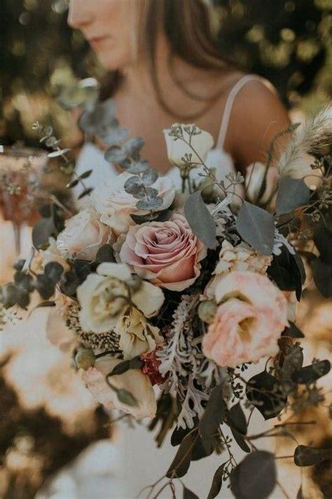 trending dusty rose  sage wedding color ideas