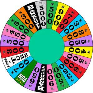 wheel of fortune template the gallery for gt wheel of fortune wheel template