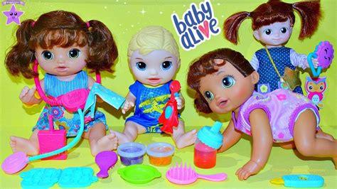 baby alive gatea mu 241 ecas bebe alive que llora gatea y hace popo y pipi de