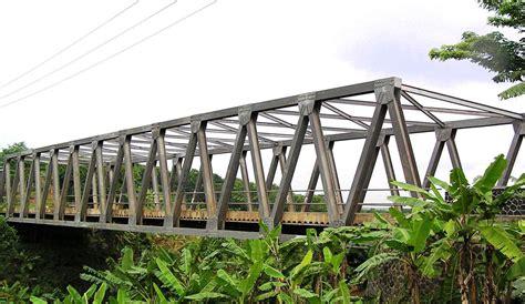 Jembatan Rangka Baja steel truss bridge pt bukaka teknik utama tbk