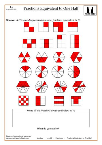 tes new year activities ks2 equivalent fractions by cazoommaths teaching resources tes