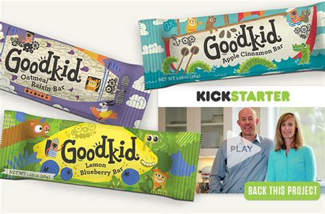Healthy Snack Jigsaw Bars by Goodkid Foods Launches Kickstarter Caign For Healthy