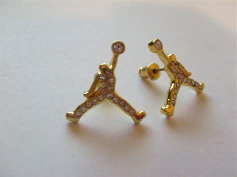 jumpman earrings