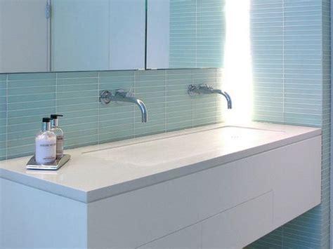 single basin double faucet bathroom sink reno ideas